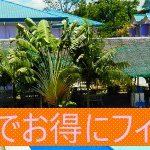 【キャッシュバック特典】 フィリピン留学をもっとお得に! (終了)