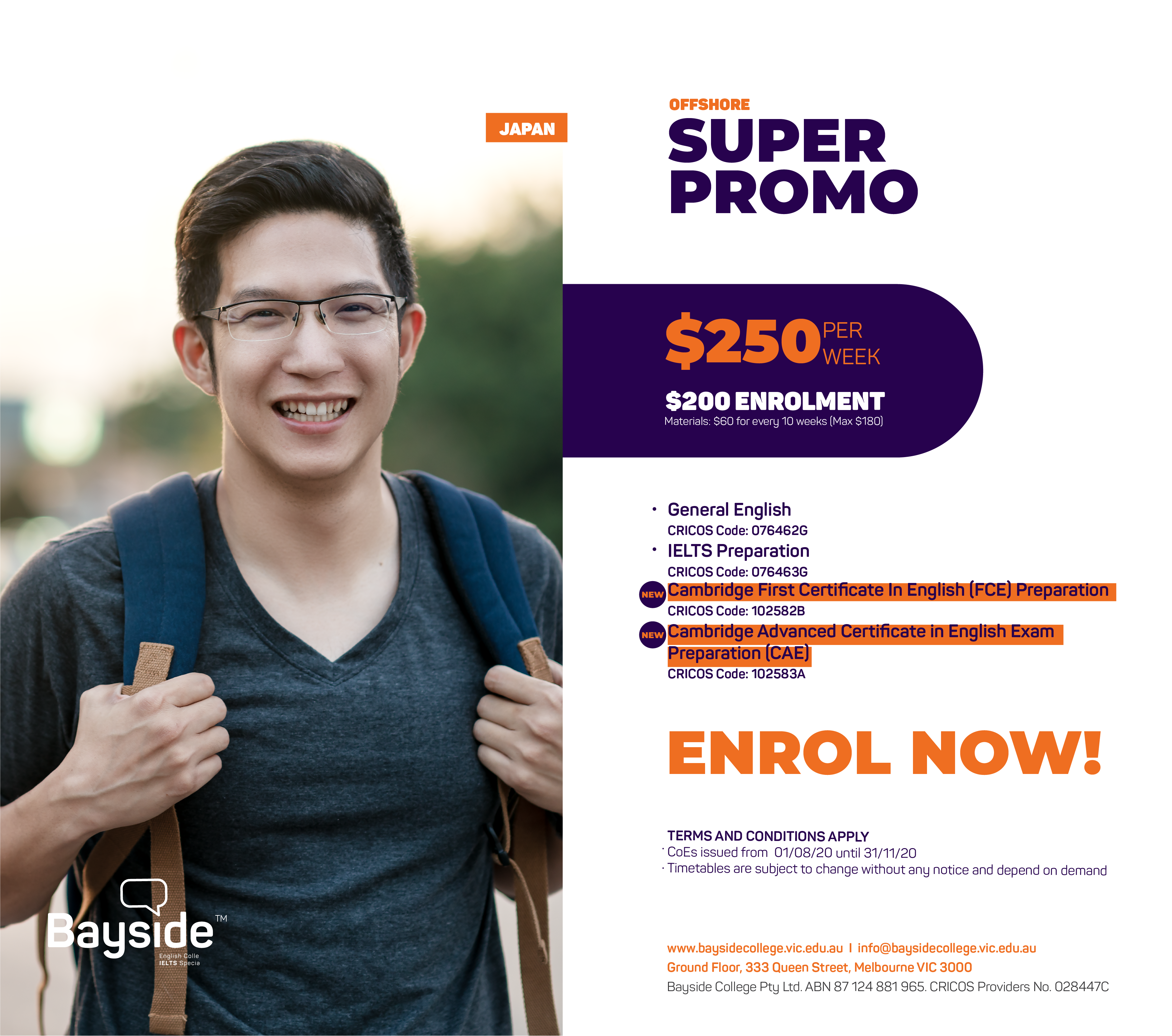 Bayside English College - Offshore Japanese Promotion